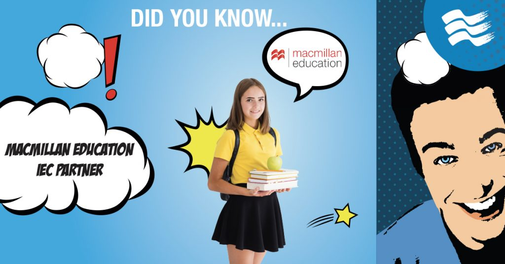 IEC è partner di Macmillan Education