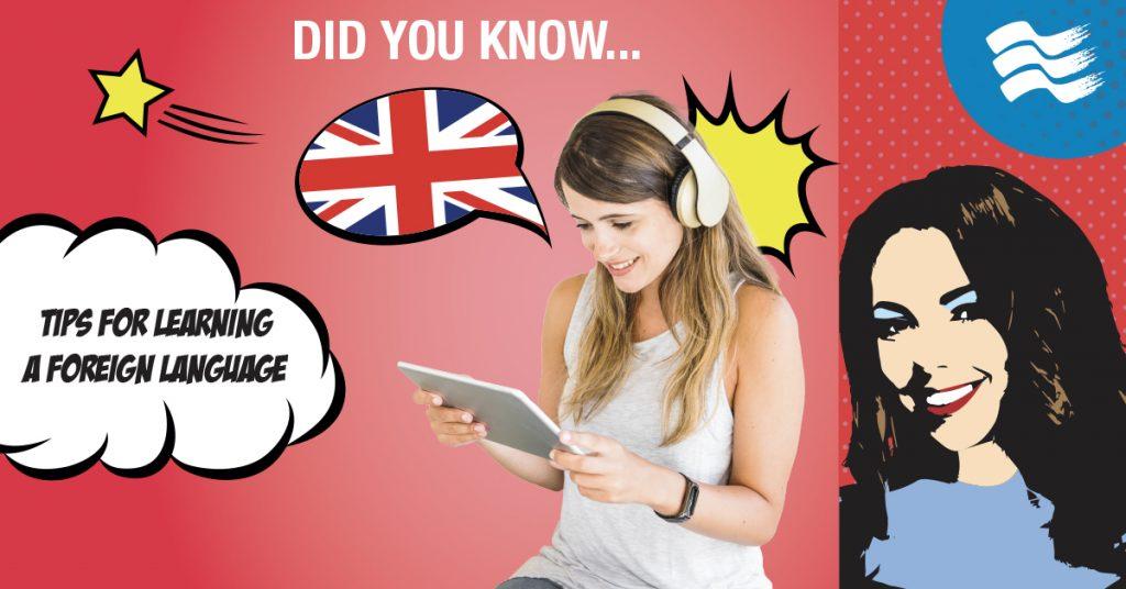 Consigli utili per apprendere una lingua straniera