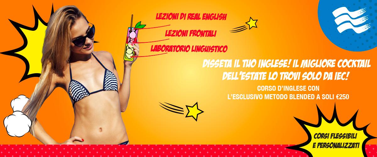 Corso di inglese Milano: Summer special offer