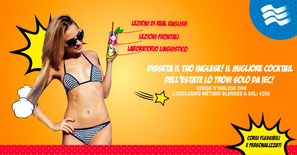 Promo Summer corso di inglese Milano